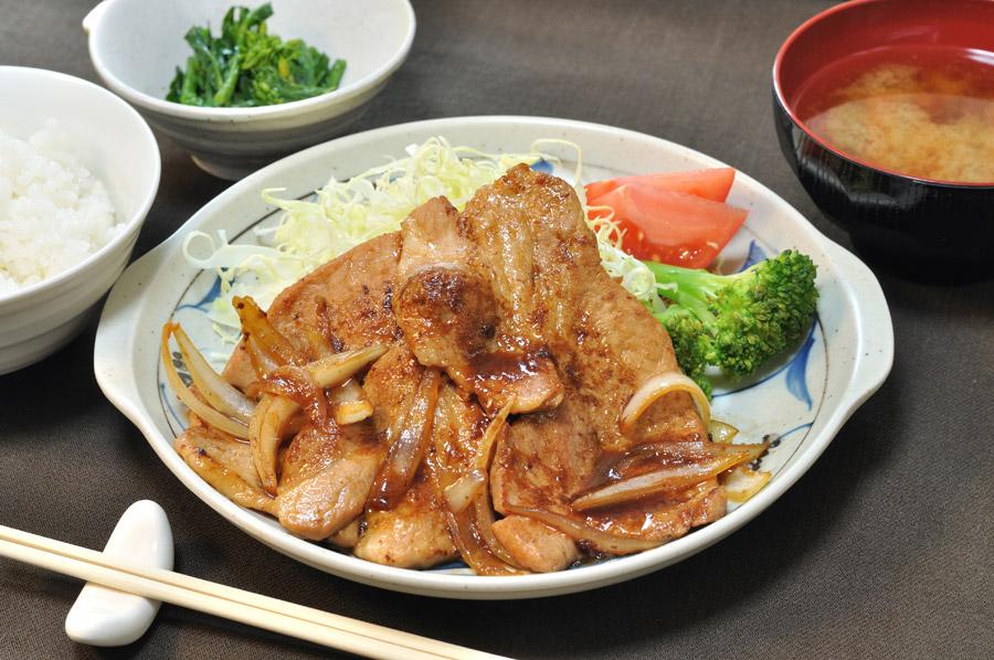 生姜焼き 画像