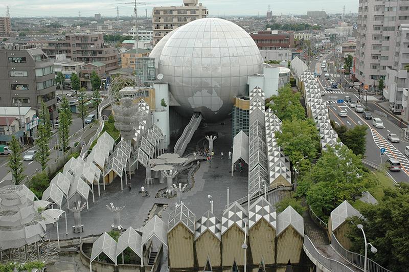 『湘南台文化センター』 外観写真