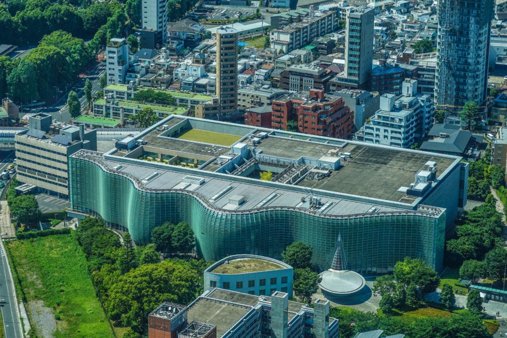 『国立新美術館』 外観写真
