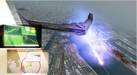 エースコンバットX2 ジョイントアサルト プレイ画像