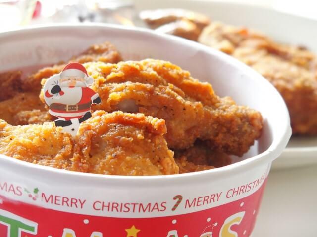 ケンタッキーのクリスマスチキン